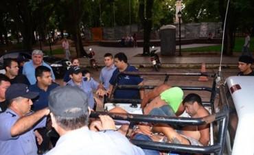 Violento asalto comando en Mercedes durante la veneración al Gaucho Gil