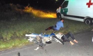 Brutal accidente en Goya
