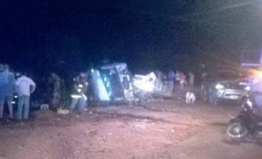 Camión que se habría adelantado protagonizó accidente fatal en ruta