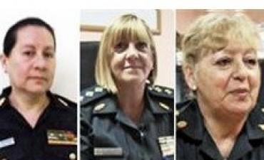 Tres mujeres están por primera vez en la cúpula de la Policía Federal