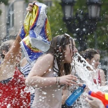 Por Facebook, convocan a celebrar el carnaval de agua