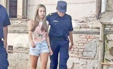Nahir Galarza, la joven detenida por el crimen de su novio, no tenía rastros de pólvora en sus manos