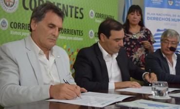 Con presencia de Avruj, Corrientes adhirió al Plan Nacional de Derechos Humanos