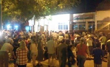 Vecinos marcharon en Virasoro contra el aumento de impuestos