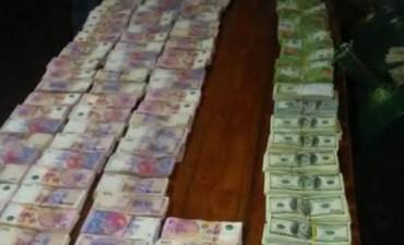 Gendarmería secuestró más de $5 millones