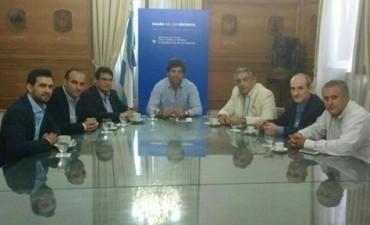 El Panu se entrevistó con funcionarios nacionales