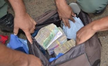 Gendarmería incautó casi 2,5 M de pesos en un procedimiento en Santo Tomé