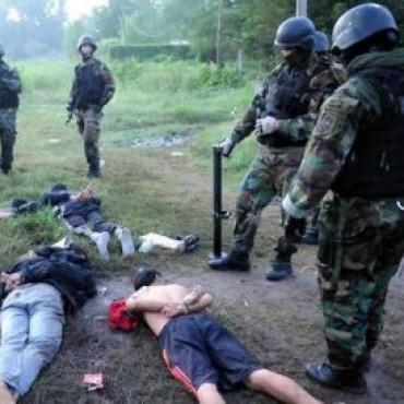 Efectivos de fuerzas nacionales para combatir el abigeato