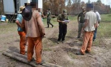 Rescataron a siete personas víctimas de trata en un campo
