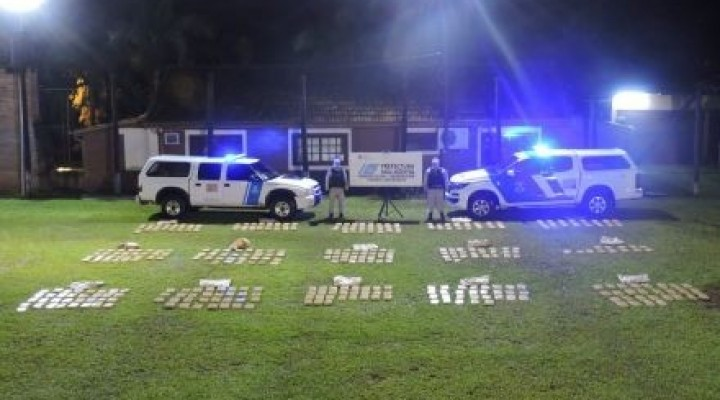 Incautan más de 600 kilos de marihuana en Paso de la Patria