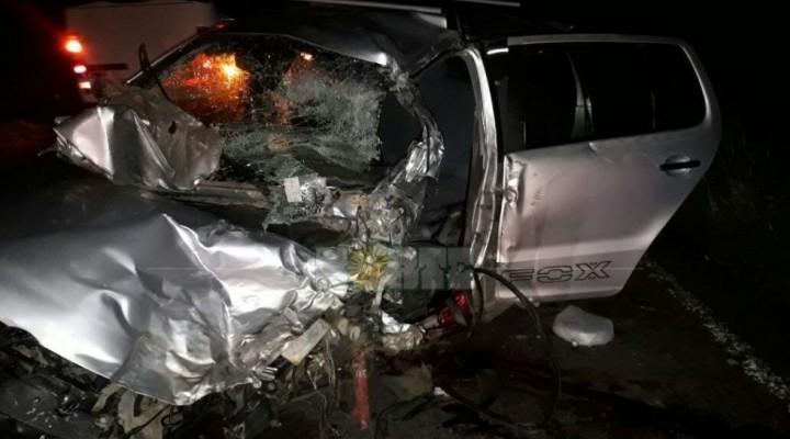 Fatal choque entre dos vehículos en Ruta Nacional 12: un muerto