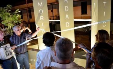 El Municipio capitalino recordó a los desaparecidos