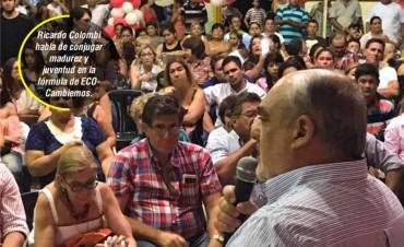 Colombi prometió una renovación total en candidaturas legislativas
