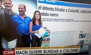Colombi sufrió el rigor del periodismo porteño