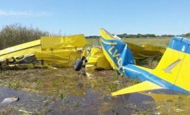 Cayó una avioneta en los Esteros del Iberá