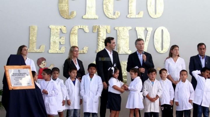 Macri reconoció falencias en la calidad educativa y propuso revertir resultados