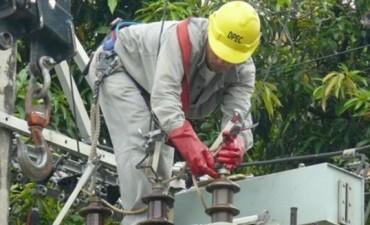 Con arreglo provisorio cinco localidades recuperaron energía, tras avería en una Estación Transformadora