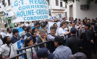 """Suteco repudia la ley antipiquetes: """"Es ir en contra de los postulados de Néstor"""""""