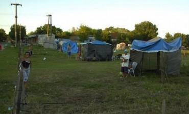 Decenas de familias usurparon terrenos en el barrio Nuevo