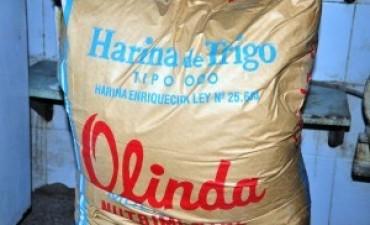 Pan: la bolsa de harina subió un 42,5% en 2016