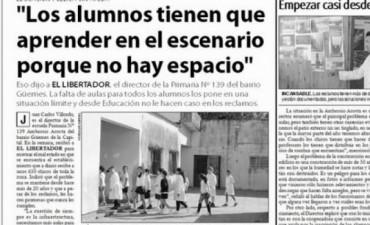Citan a Ministra por el estado edilicio de las escuelas