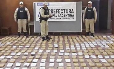 Incautaron 692 kilogramos de cannabis en un barrio capitalino