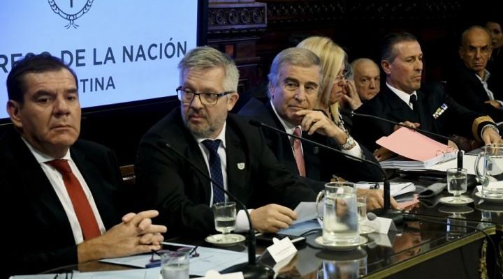 """Oscar Aguad: """"El Gobierno va a seguir buscando el submarino"""""""