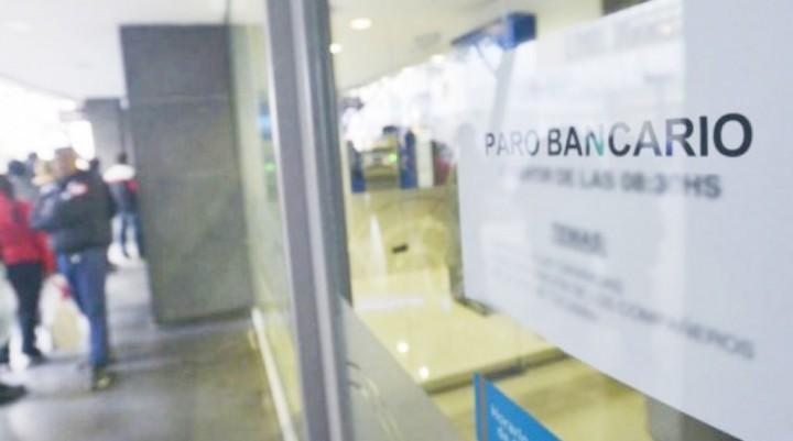 Los bancarios ratificaron paro bancario de 48 horas