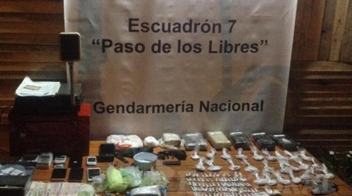 Desarticularon un búnker de venta de drogas y secuestraron cocaína