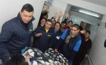 """Fernando """"Wilson"""" Cuevas finalmente llegó anoche a su pueblo natal, Durazno"""