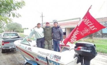 Con la humildad del seno familiar, tres goyanos fueron los campeones de la Pesca del Surubí