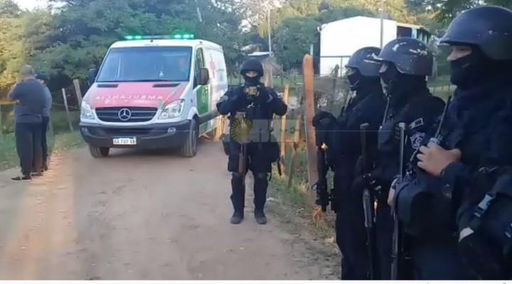 Itatí narco: un prófugo fue apresado en una vivienda durante un allanamiento