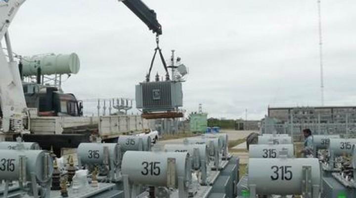 Hay obras energéticas en veinte localidades