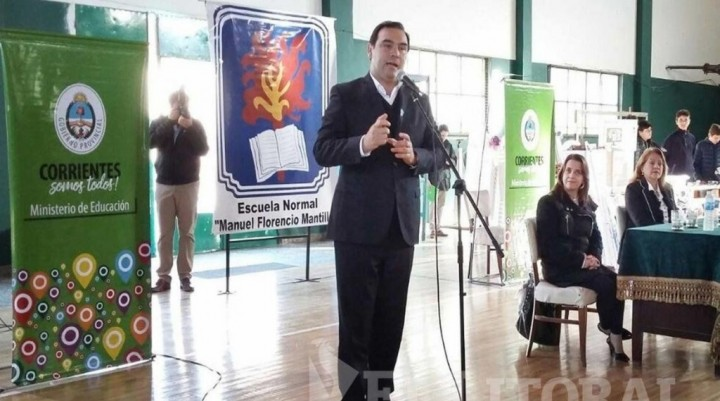 Valdés señaló que Corrientes no sufrió la crisis cambiaria, pero habrá cautela fiscal
