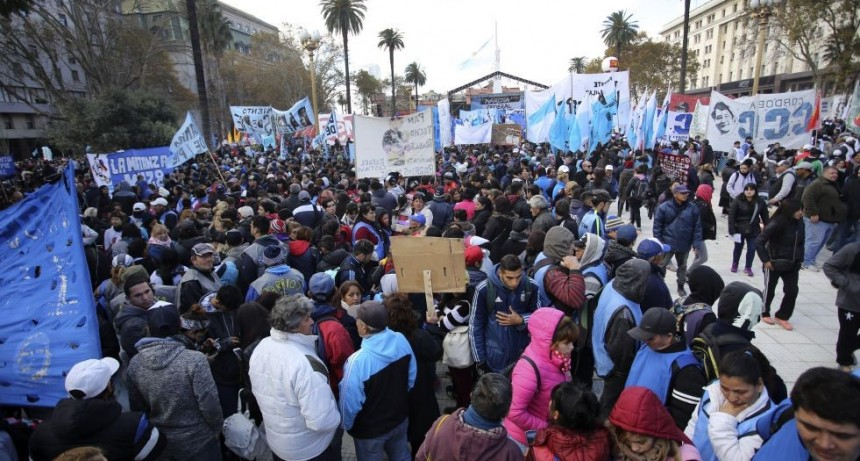 La Marcha Federal le puso presión a la CGT para que convoque a un paro