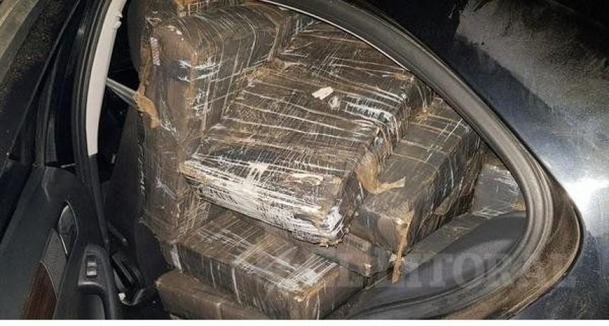Incautaron más de 600 kilos de marihuana en Itatí