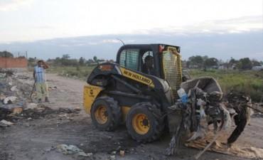 La Municipalidad continúa su intensa labor para erradicar basurales en diferentes puntos de la Ciudad