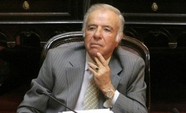 AMIA: prohíben salir del país a Carlos Menem