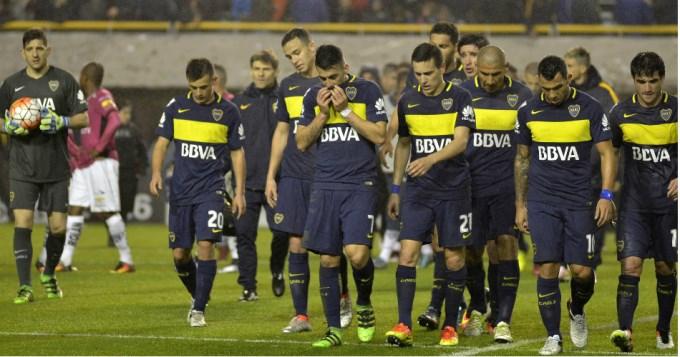 Boca se ahogó y se quedó sin Libertadores