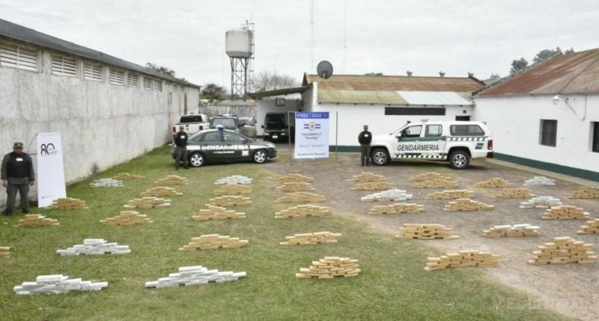Gendarmería incautó más de 600 kilos de marihuana en Itá Ibaté