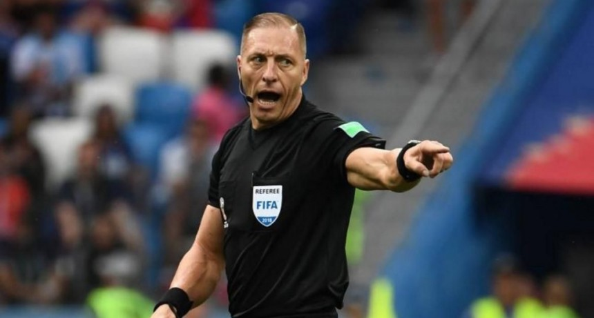 El argentino Néstor Pitana será el árbitro de la final del Mundial