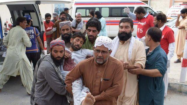 Impactante video: 149 muertos y casi 200 heridos en atentado suicida