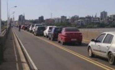 Amenaza de bomba en puente de Paso de los Libres