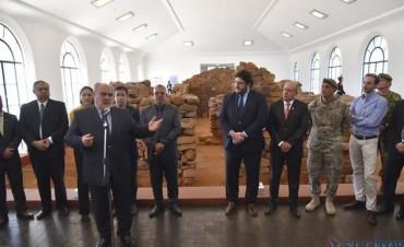 El acto central en honor al Padre de la Patria contó con presencia nacional y provincial
