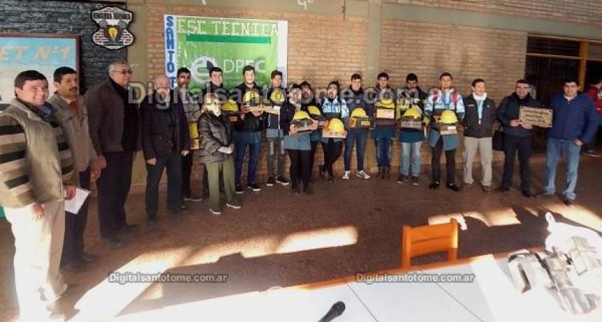13 alumnos de la Escuela Técnica realizarán pasantías en la Dirección Provincial de Energía