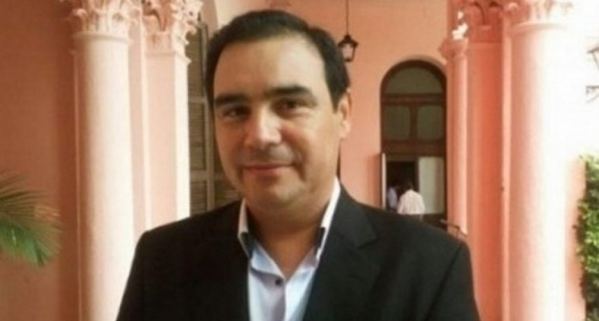 Valdés con Marcí en el acto de asunción del nuevo presidente de Paraguay