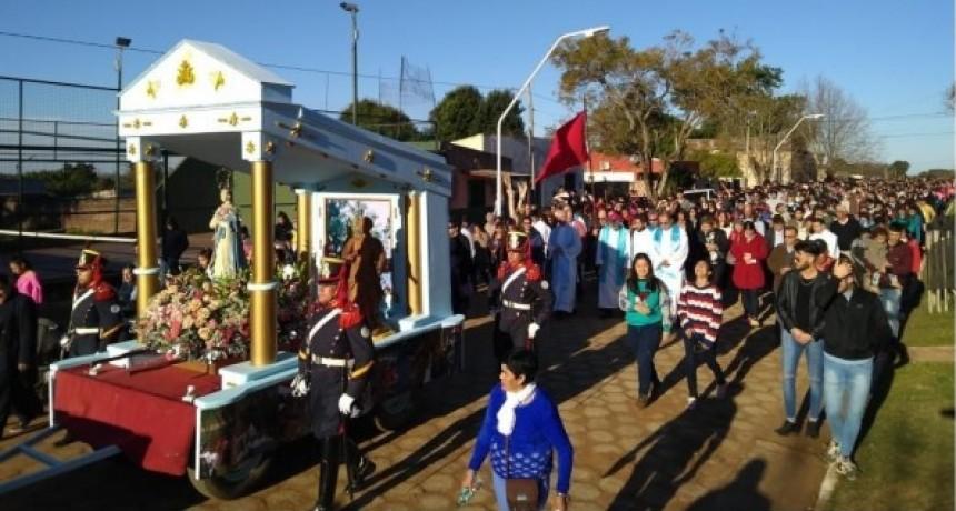 La Cruz: fiesta patronal con fuerte impronta de integración fronteriza
