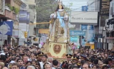 Devotos agradecieron la fidelidad materna a la Virgen patrona de la ciudad de Corrientes