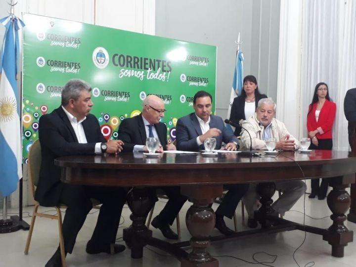 """Gobernador Valdés: """"El paro es inoportuno, la única forma de salir adelante es produciendo"""""""