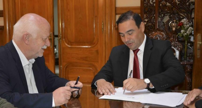 Valdés instrumenta compensación por fondo sojero a los municipios